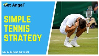 Best Betfair trading strategy for Tennis Trading | Peter Webb | Bet Angel
