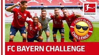 Tolisso, Ribery und Co. - FC Bayern München's Crazy Glasses Challenge