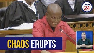 WATCH_FULL_|_MPs_disrupt_Julius_Malema's_SONA_debate_speech