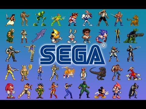 Игры моего детства на приставке Sega [ Через эмулятор на Android ]