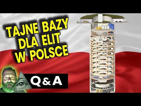 Tajne Bazy, Bunkry i Podziemne Miasta dla Elit w Polsce - Q&A Ator Plociuch Przepowiednie Analiz