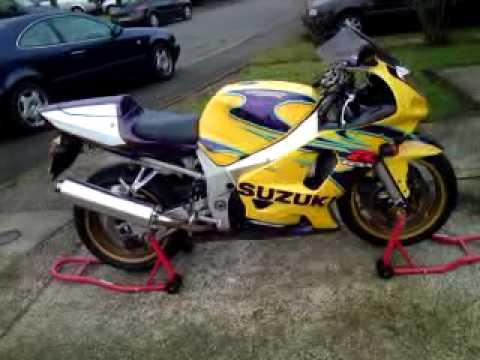 Suzuki GSXR 600 2003 Corona Alstare for sale - YouTube