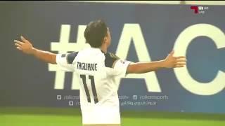 هدف الوحدة الإماراتي التعادل ضد الهلال( تيجالي ) 1-1 دوري ابطال اسيا