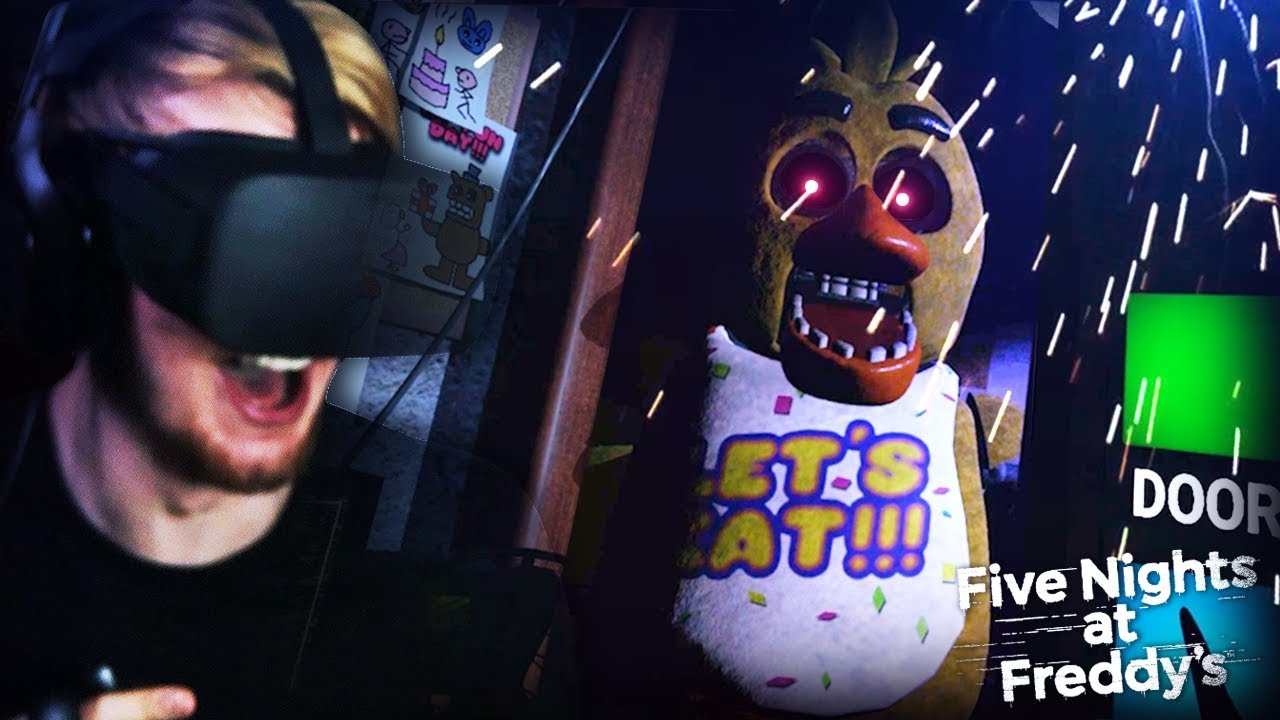 FNAF 1 IN VR? I CAN NOT HANDLE THIS  || Five Nights At Freddy's (VR Remake)