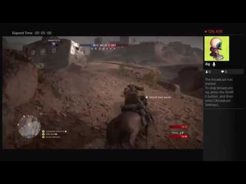 End1user's Live PS4 Broadcast