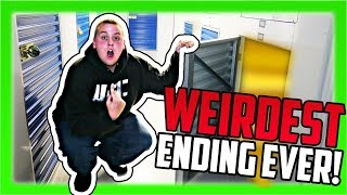 I Bought An Abandoned Storage Unit For $1! WEIRDEST ENDING EVER!!