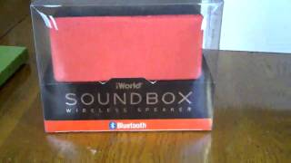 Sound Box Wireless Speaker Red Review, Loud & clear sounding