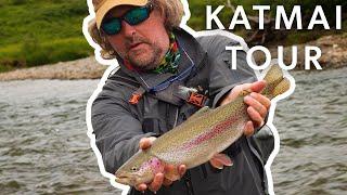 20 Year Old Brian + Alaskan Trout, Salmon & Grayling + Katmai Tour