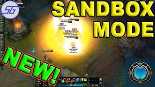 NEW! Sandbox / Practise Mode! Farm Simulator [League of Legends] - Guide, Explained