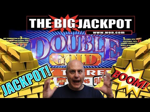 $30 / SPIN 💰JACKPOT HANDPAY on DOUBLE GOLD!!