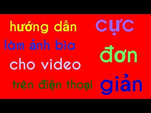 Cách làm ảnh bìa YouTube cực dễ