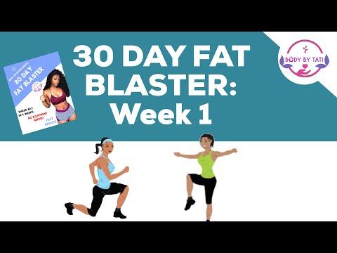 30 Day Fat Blaster Week 1