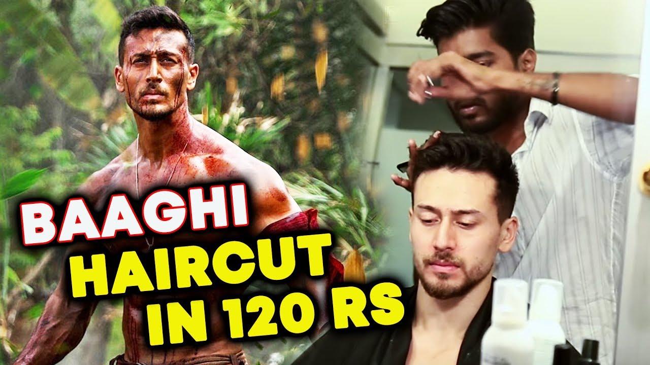 Tiger Shroff Baaghi 2 Haircut 120 Rs Tiger