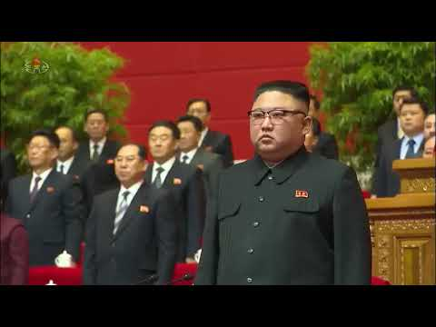 """""""The Internationale"""" closes the 8th Congress of the Workers' Party of Korea"""