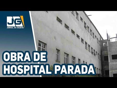 No Grande ABC, obra de hospital parada