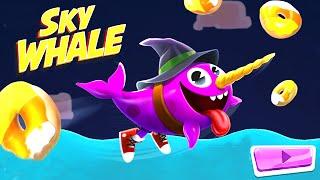 Sky Whale: New Update Halloween Costumes AND Scene - Nickelodeon Games