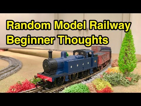 A Beginner's Model Railway Realisations!