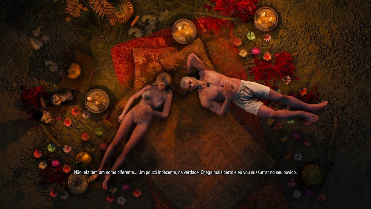 uncensored naked from witcher
