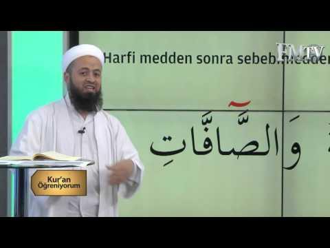 (Medd-i Lazım)Mehmet Akdemir Hoca ile Kuran Öğreniyorum 5.Bölüm  FM TV