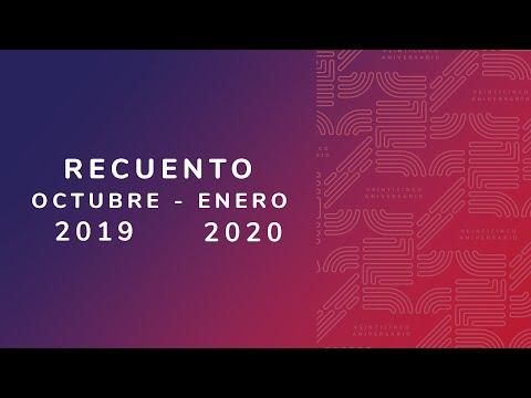 Video Recuento Octubre 2019 - Enero 2020 | LHCM