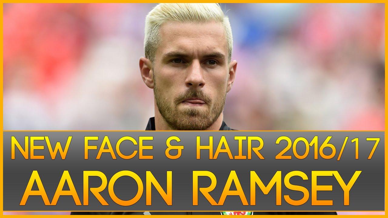 Pes 2013 Face White Hair Aaron Ramsey 20162017 By Radim Luca