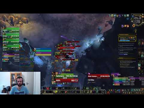 World Of Warcraft - Tréfonds Putrides +13 Pov Tank DH - Saison 2 BFA