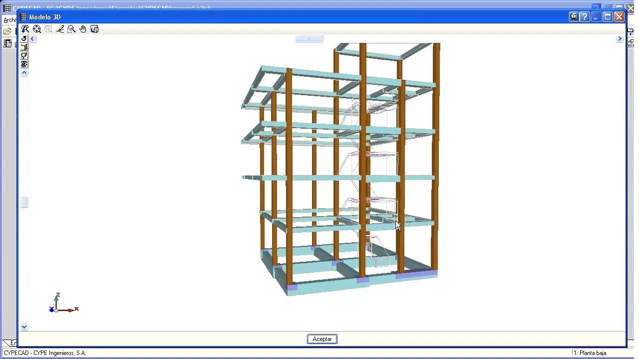 Cypecad Diseño Y Cálculo De Estructuras