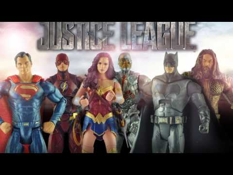 "Multiverse Justice League Movie 6"" Figures Revealed From Mattel"