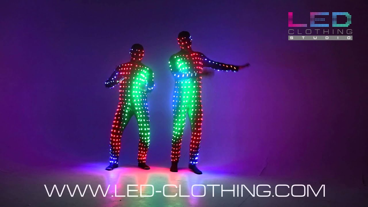 Digital pixel video led suit with wireless control youtube digital pixel video led suit with wireless control solutioingenieria Gallery