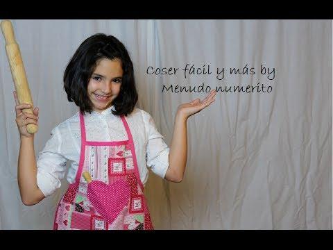 Cómo hacer un delantal para niña o Girl