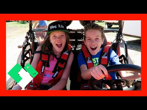 KIDS DRIVE RZR FOR THE FIRST TIME (Day 1883) | Clintus.tv