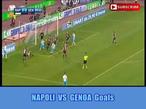 NAPOLI VS GENOA 2-0 Goals Mp3