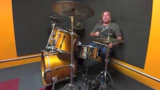 Luca Pagliari lezioni di batteria 2016, esercizi per lo swing parte 3