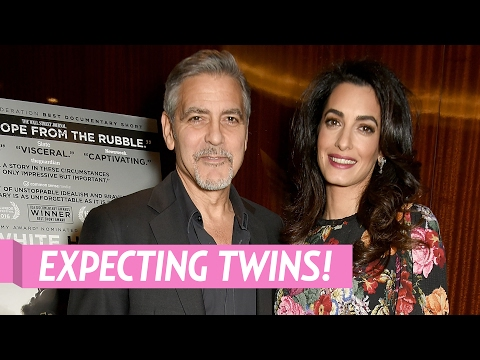 Amal Clooney Is Pregnant, Expecting Twins With George Clooney