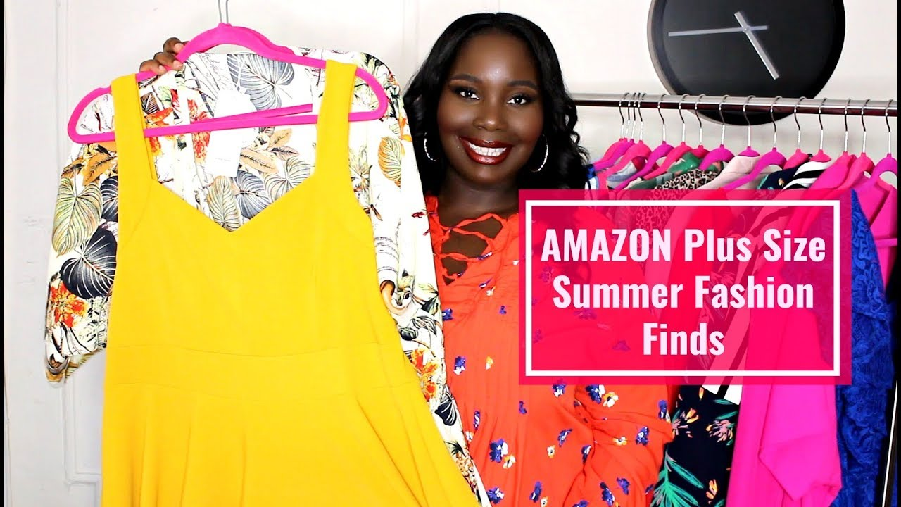 dffc2b4ec22 Amazon Prime Plus Size Summer Fashion Haul 2018 - YouTube