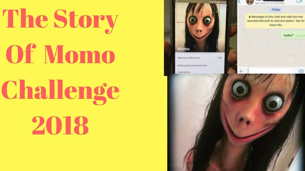Momo Challenge Update: The Story Of Viral Momo Challenge 2018 !!