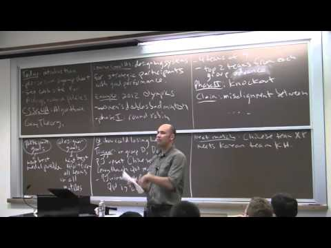 Algorithmic Game Theory, Lecture 1 Introduction