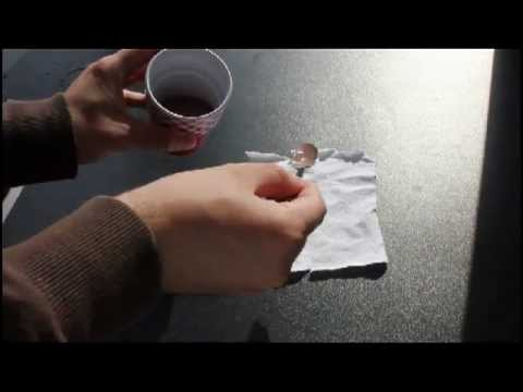 how to remove set in chocolate stains