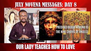 July Novena Messages  Day 8