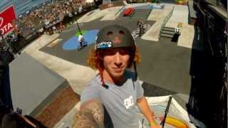 GoPro HD: BMX Street Course Preview with Jeremiah Smith and Chad Kerley – Summer X Games 2012