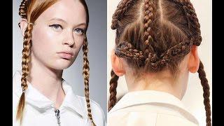 Прически с косами (видео)(, 2014-10-21T14:16:32.000Z)