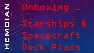 Starships & Spacecraft Deck Plans (traveller5) Unboxing