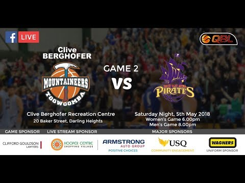 Toowoomba Mountaineers vs South West Metro Pirates - QBL Home Game 2 Toowoomba Sports Club