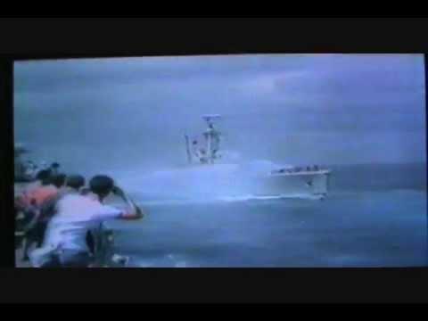 Leander class HMS Jupiter Armilla Patrol Handover 1985