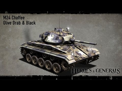 Heroes and Generals Ep 23 M24 Chaffee