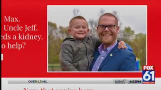 Rep. Currey looking for kidney donor