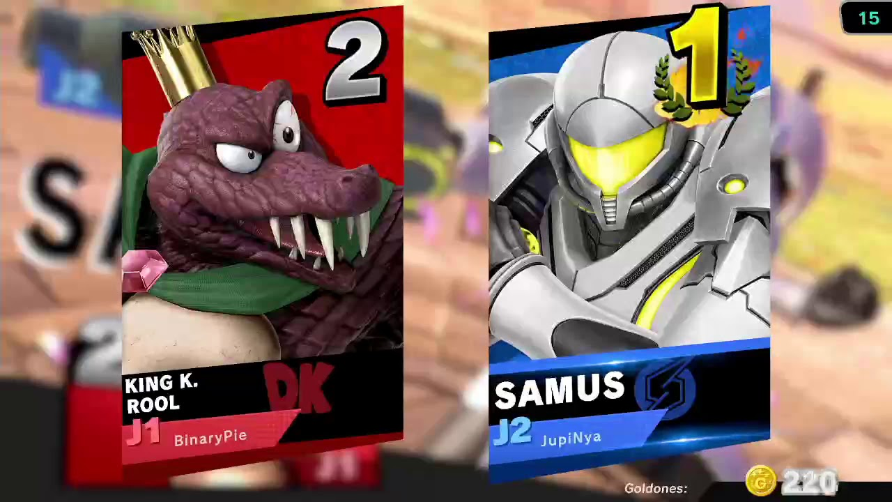 [Super Smash Bros Ultimate] (15 Junio 2020)