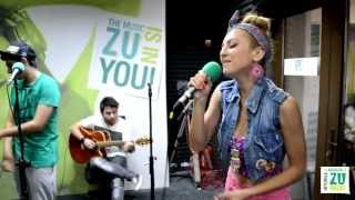 Simona Nae - Doi nebuni (Live la Radio ZU)