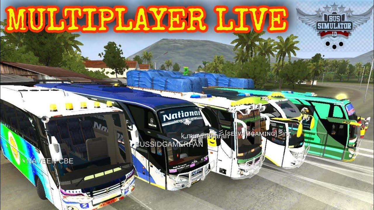 Bussid Multiplayer Live Part 31 (வாங்க விளையாடலாம்)