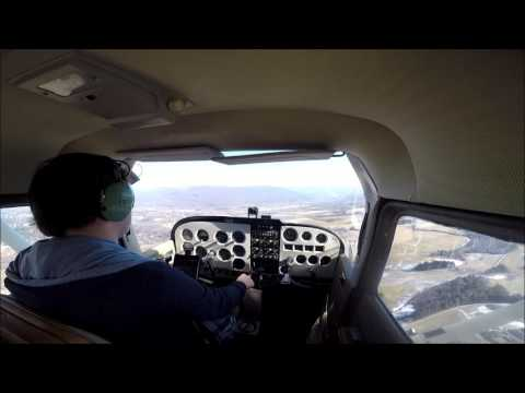 My First Solo Flight: Cessna 172
